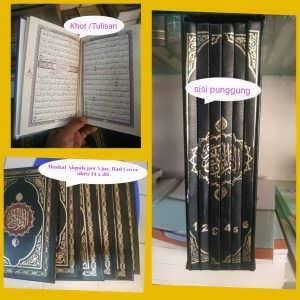 Mushaf Al-Quds Mesir per 5 juz ukr 14×20 Hardcover