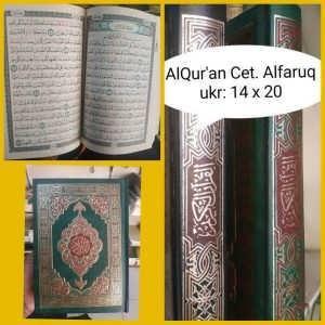 Mushaf Alfaruq Mesir ukr 14x20cm